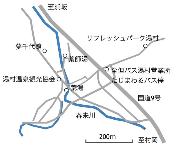 湯村マップ