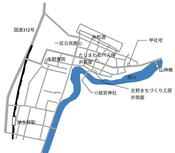 口銀谷マップ