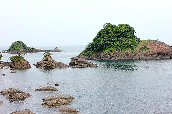 香美町香住区下浜「但馬松島」